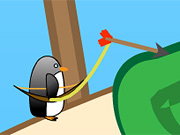 Penguin with Bow Golf
